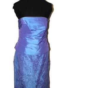 Montage by Mon Cheri Dresses - Montage Size 12 Blue Formal Dress